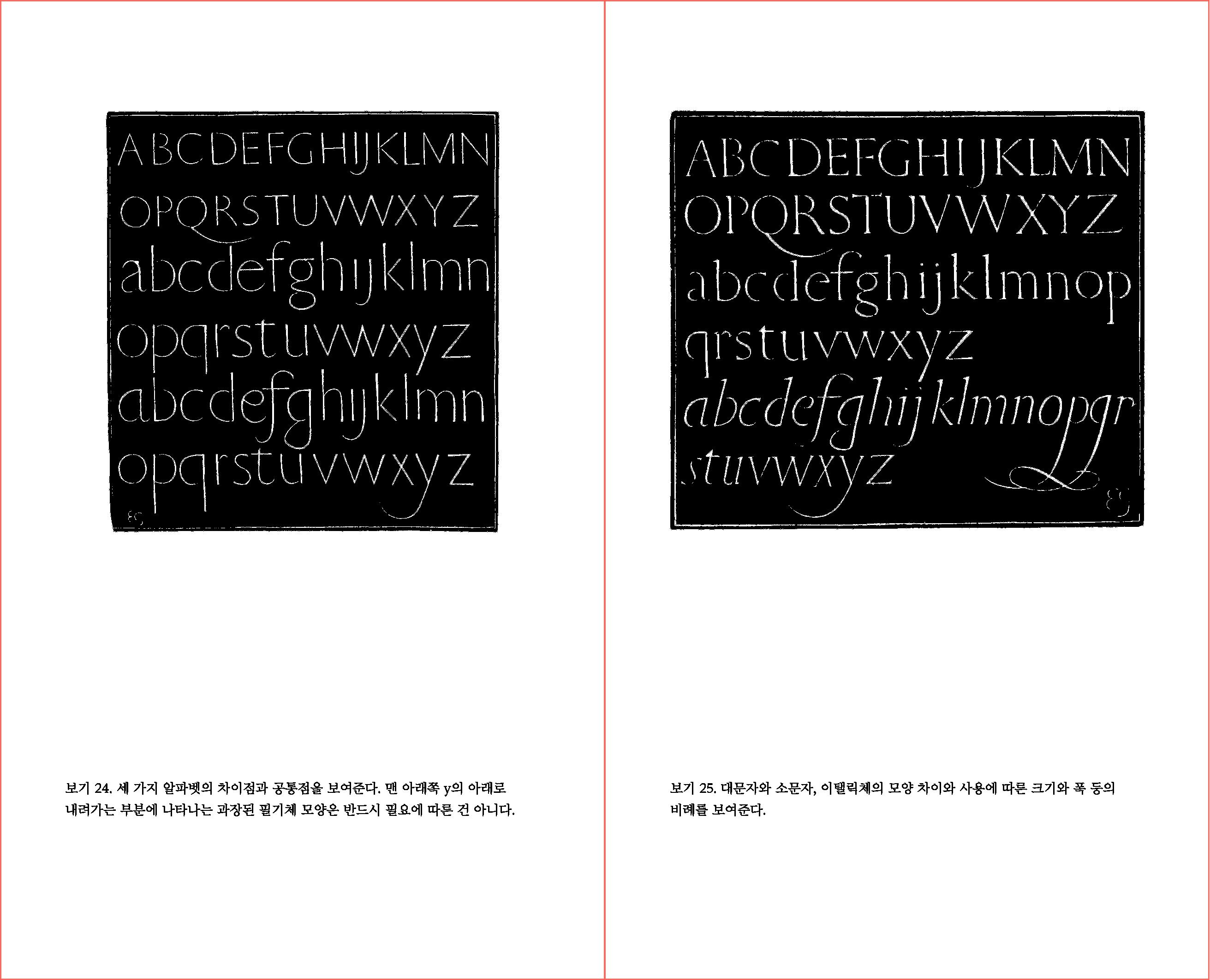 타이포그래피에 관한 에세이 74-75