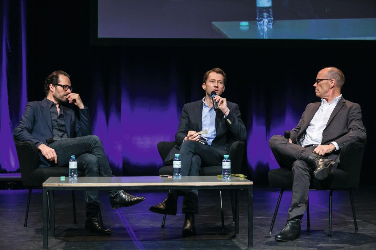 에릭 슈피커만(ERIK SPIEKERMANN), 마테오 크리스(MATEO KRIES), 콘스탄틴 그리치치(KONSTANTIN GRCIC) @Typo 2015, Berlin