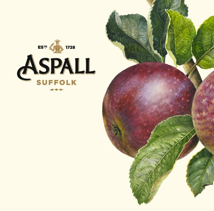 아스팔 아이덴티티 디자인 : 유서 깊은 브랜드에 상큼함을