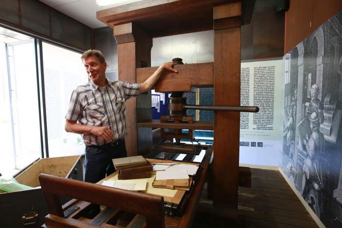 구텐베르크 특별전 : 동서양 인쇄술과 활자의 만남