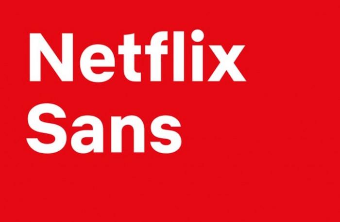 넷플릭스의 새로운 전용서체, Netflix Sans