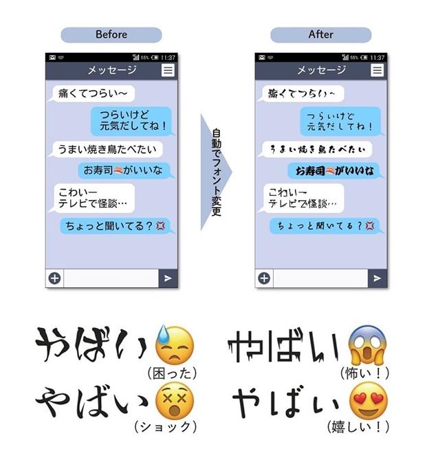 다이닛폰 인쇄, 글에서 감정을 읽고 폰트를 골라주는 AI 기술개발