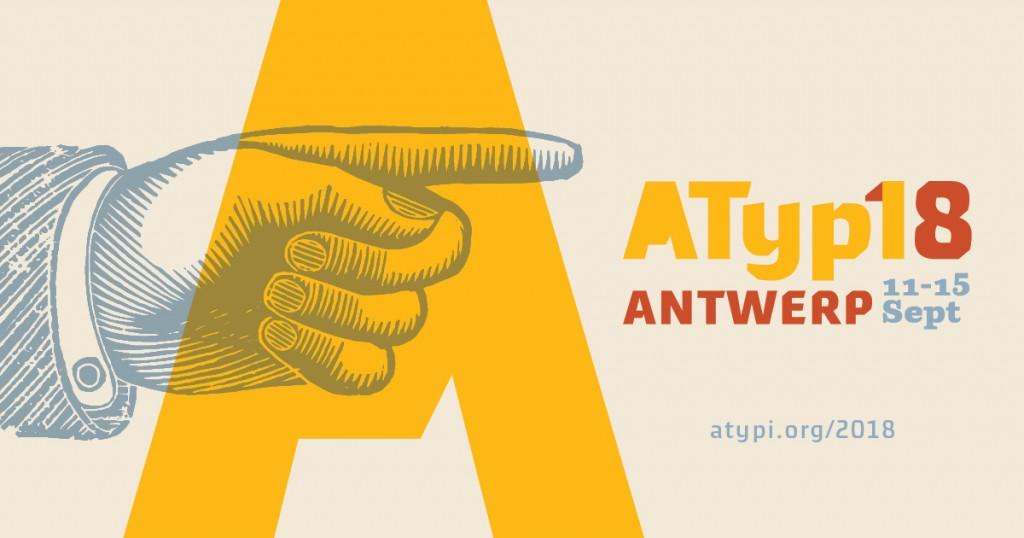 ▲ATypI 2018 포스터 / 출처: www.atypi.org